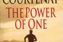 Books / The Power of One. The Dharma Bums. Once a Runner.