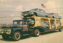 CAR transporter trucks