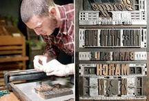letterpress / Letterpress design