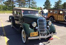 1935 Ford Phaeton - LeBaron Bonney Company / 1934 Chevrolet Master Sedan - Customer Installation - 003 - LeBaron Bonney Company