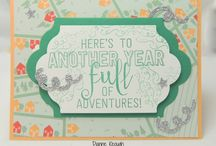 New Years cards and other items / Cards and other items to celebrate the new year