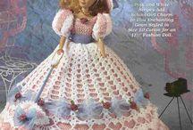 Doll - Barbie dress patterns