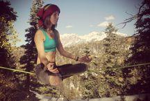 Slackline Yoga