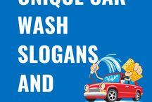 Car Wash Slogans and Taglines