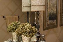 Elegant powder rooms