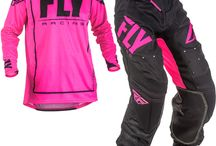 Pink Motocross Stuff - not just for the girls! / It's takes a real man to wear pink.......;)