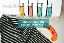 Sewing with Jersey, knits etc. overlocker