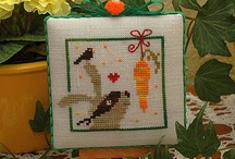 Cross stitch: Easter & spring