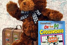 Where's Corin? / Follow the adventures of Corin the Puzzle Bear on his summer road trip across the U.S. / by Penny Dell Puzzles