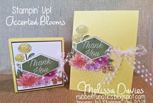 cards accented blooms su!