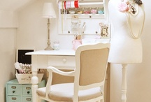 Crafting Rooms, Nooks & Office Space / by Whitney Mathis
