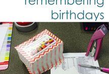 Student Birthday Ideas