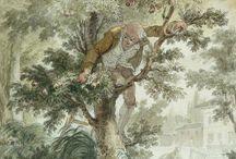 MONNET Charles - Détails / +++ MORE DETAILS OF ARTWORKS : https://www.flickr.com/photos/144232185@N03/collections
