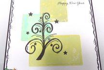 PEACE TREE stamp set