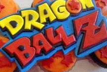 Decoración de dragon ball para cumpleaños