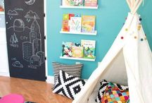 small baby blue room