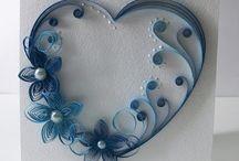 valentine`s day quilling