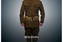 WWI US Military uniforms
