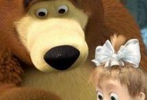 Bear in cartoons