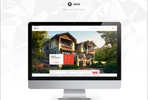 Hata — Real Estate PSD Template / Everyone of us dream about the snug home. But when coming time to buy our own sweet home – it becomes to be difficult to imagine anything without of any provided information. So, off the top of your head – it's to open some professional websites with house sales. But at the same time most of sites doesn't look reliable or understandable and then we looking for the most trustable information and more official site for sales and our website looks so!
