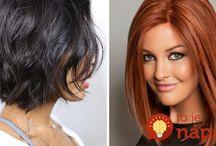 Vlasy, účesy - inspirace