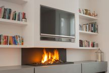 TV Gas Fire Storage Ideas