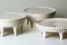 Pottery feet