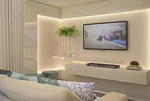 Living Area / Element: ambient light, wall washer