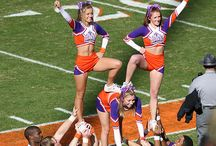 Cheerleaders look
