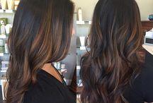 Highlight hair colour