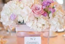 Chanel vase blomster deco
