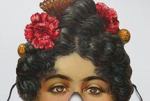 Viktorianska ansiktsmasker