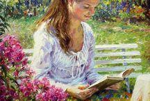 Książka w malarstwie