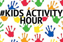 #KidsActivityHour / A fun and exciting hour of fun with lots of activities for you to do with your kids.