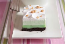 Kiss Me, I'm JELL-O / Celebrate St. Patrick's Day with JELL-O and a few tasty dessert recipes (some of them may even be green).