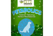 Petabolics Perfect Meal Balancer for All Types of Canine Diets! / Petabolics Perfect Meal Balancer for All Types of Canine Diets!  Top off your pet's meal perfectly with a perfect balance of vitamins, minerals, super foods, super fruits, Omega 3 and, digestive enzymes and pre and probiotics. Takes the guesswork out of home cooked and raw diets. Safe for puppies and all life stage dogs.
