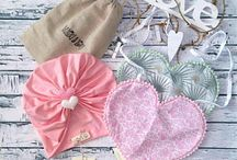 Baby Gift Set / Baby gift set, Baptism gift set, Christening gift set, Turban and boho bib, Baby fashion, Baby accessories, Baby shower,Baby gift