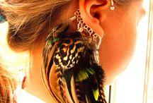 ear cuff plumes