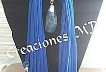bufandas y collares