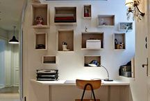 Great Home Office Ideas / Some great ideas for #homeworking spaces