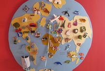 Map Crafts for Kids