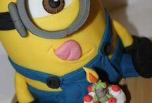 minion torta Regő 5 éves