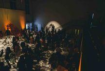Dinner at Sunbeam / Wedding breakfasts and dinner parties in the halls of Sunbeam Studios.