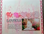 Messy Scrapbook pages