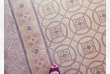 Tiles in Budapest