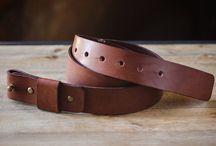 Кожаные ремни Leather Belts