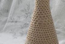 Nowe życie butelki / Co zrobić ze starej, szklanej butelki w ciekawym kształcie?