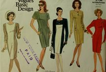loose fitting pullover dress patterns / straight styles