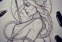 tatto diosa