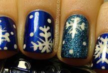 Nail art *snow*